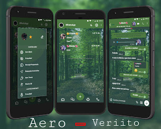 Nature Theme For YOWhatsApp & Fouad WhatsApp By Veriito