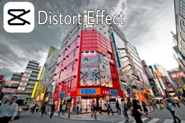 Cara Menambahkan Distort Right dan Distort Left Capcut