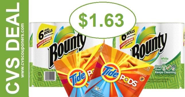 CVS Bounty P&G Deal 825-831