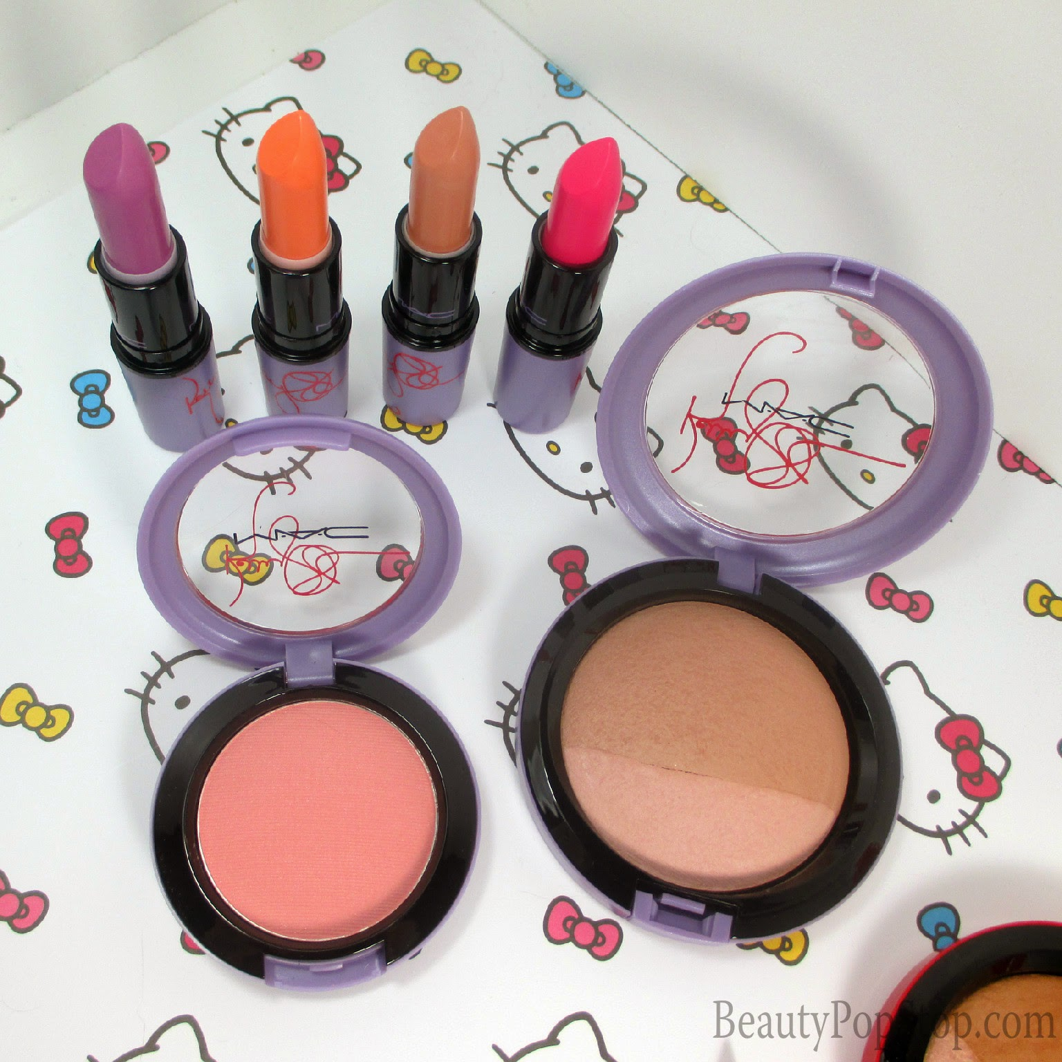 mac kelly osbourne collection review and swatches