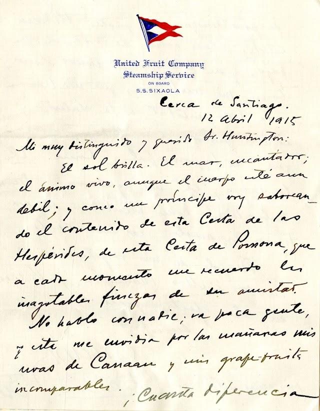 ¡PAX!... poema de Rubén Darío, el alegato pacifista contra la Primera Guerra Mundial