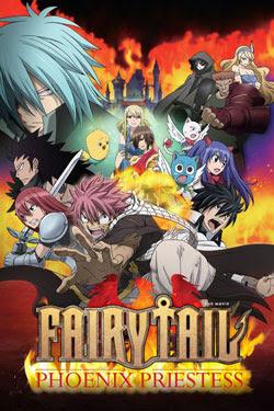 Ver online descargar Fairy Tail: La Sacerdotisa del Fénix sub esp