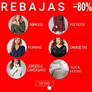 80% de descuento en moda Venca