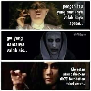 Susana malak Valak Conjuring