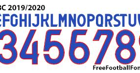 Free Football Fonts Atalanta Bc 2019 2020 Joma Font