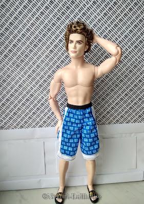 Ken Twilight Jasper doll BMR rebody
