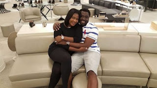 Mercy Johnson's Husband Says Mercy Has Not Recovered From Her Mothers Death