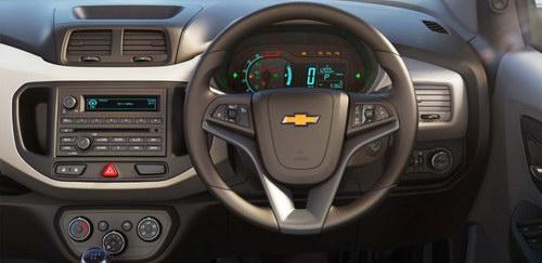 Gambar Dashboard Chevrolet Spin