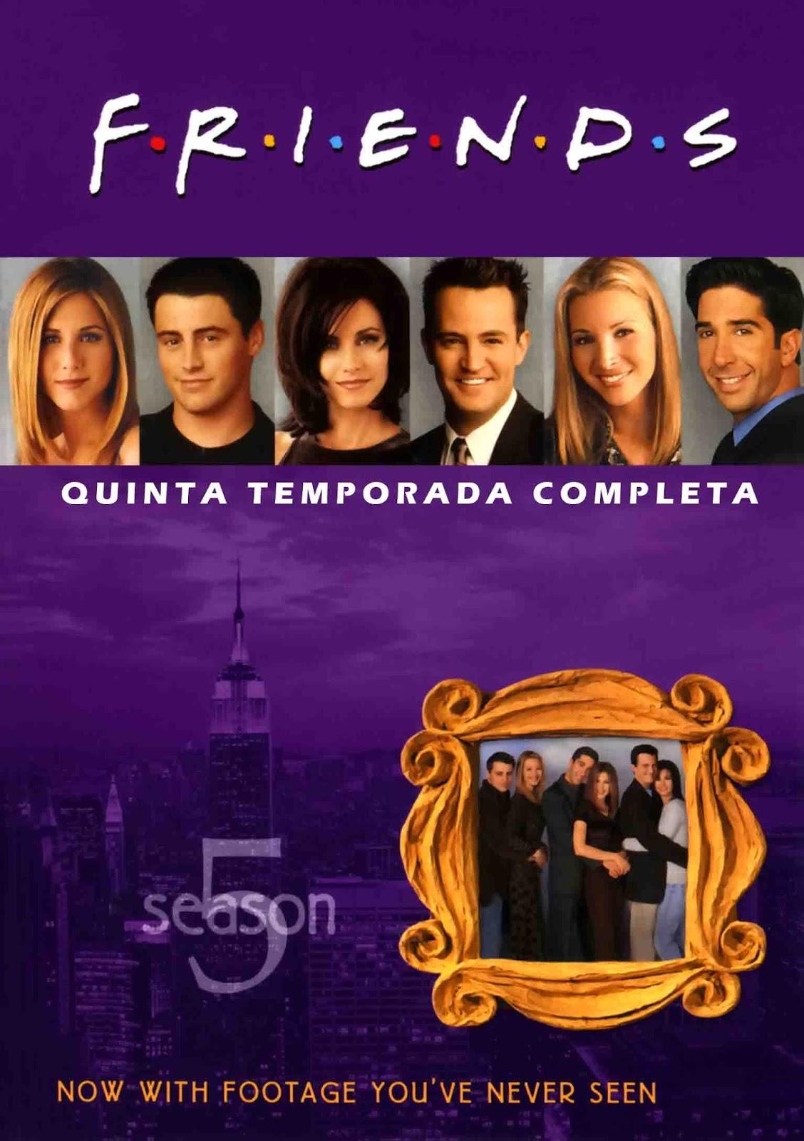 Friends 5ª Temporada Torrent - Blu-ray Rip 720p e 1080p Dual Áudio (1998)