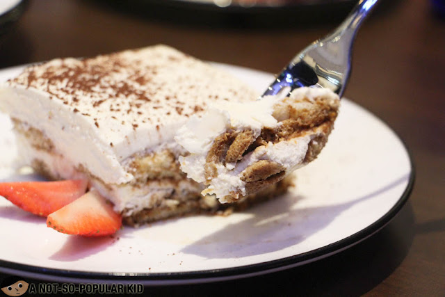 Tiramisu of Pizza Express