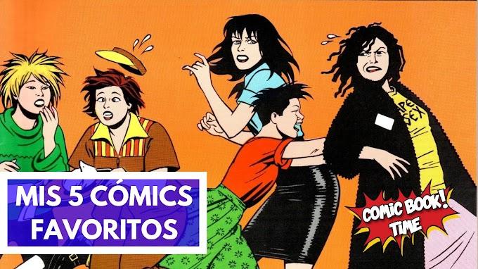 Los 5 cómics favoritos de Iñaki