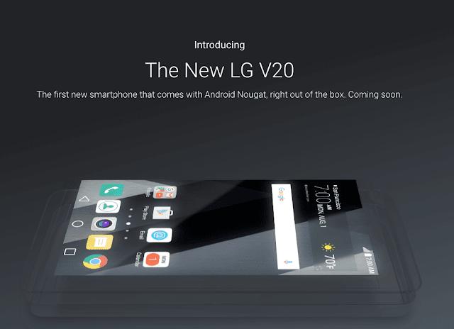 LG V20 : Audio By B&O PLAY