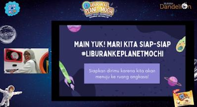 main ke planet saturnus bersama tante tari