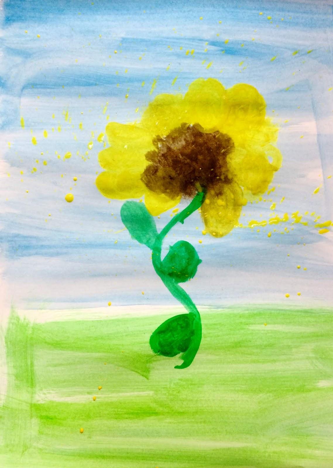 """Povești ilustrate de copii- """"Legenda Florii-Soarelui"""""""