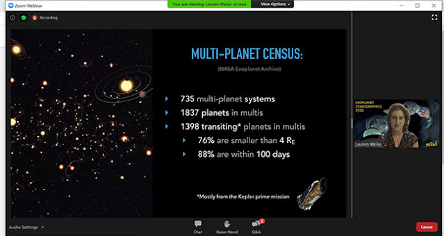 Multi-planet census (Source: Lauren Weiss, Exoplanets Demographics 2020 meeting)