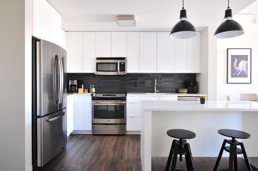 Quartz Kitchen Worktops Breakfast Island