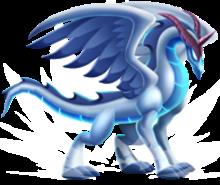 imagen del noble dragon cometa de dragon city