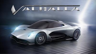 Aston Martin Valhalla, Mobil 007 Berikutnya