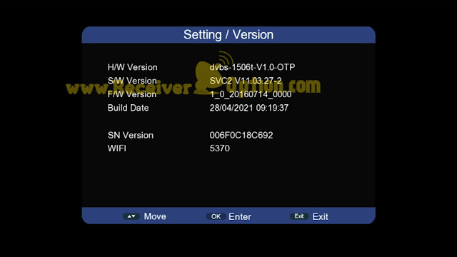 SUNPLUS 1506T 512 4M NEW SOFTWARE WITH GO SAT PLUS V2 & G SHARE PLUS V2 OPTION 28 APRIL 2021