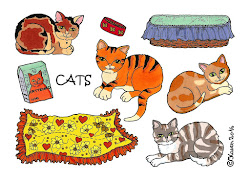 Link to: Cat cut-outs and paper dolls.
