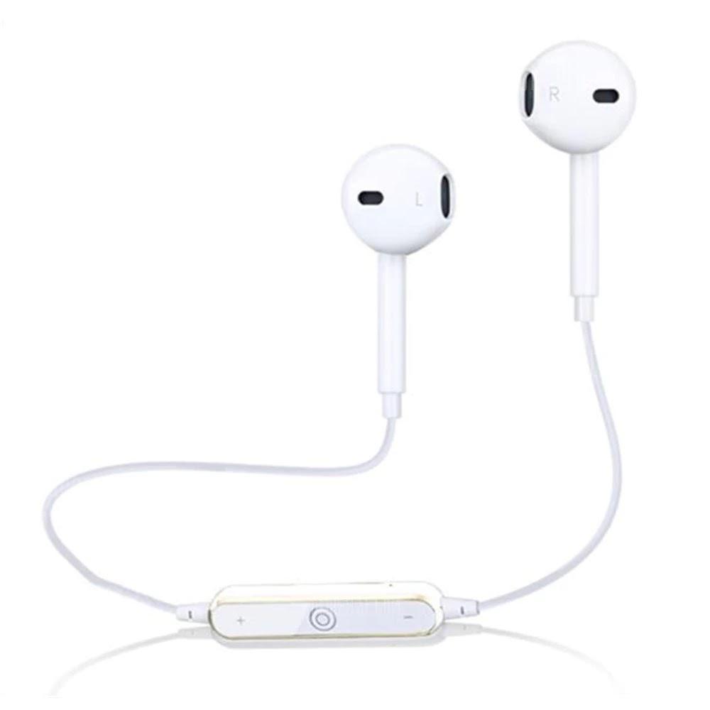 S6 Bluetooth Headphones Dynamic Sport Fitness Earphone