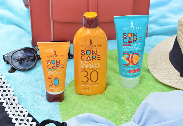 Afrodita Cosmetics Sun Care