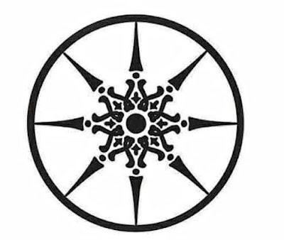 gambar simbol cakra manggilingan
