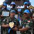 Wadan Satgas TNI RDB Tutup Pelatihan Contingent Training Capsule