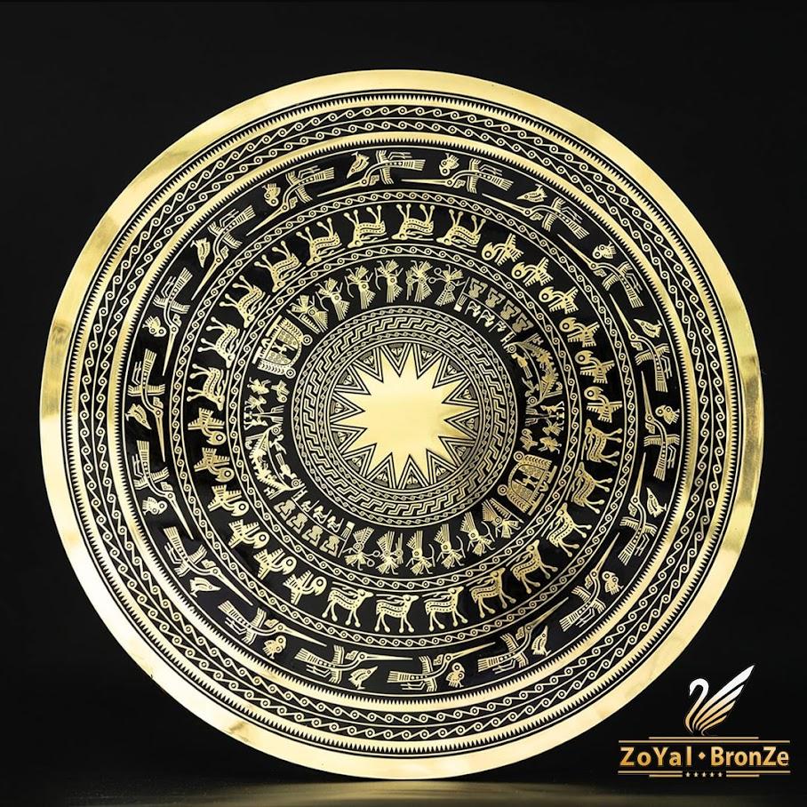 [A117] Mặt trống đồng Ngọc Lũ: Quà tặng đối tác cao cấp