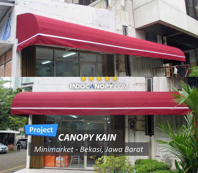 canpy kain lengkung sunbrella marun