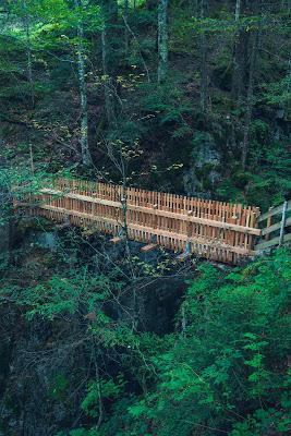 Regenwandern im Brandnertal Bürserberg Furkla Höhenweg + Kesselfall | Wandern Vorarlberg 11