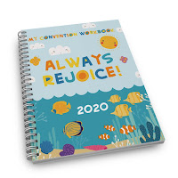 Kids notebook for the 2020 Always Rejoice Convention