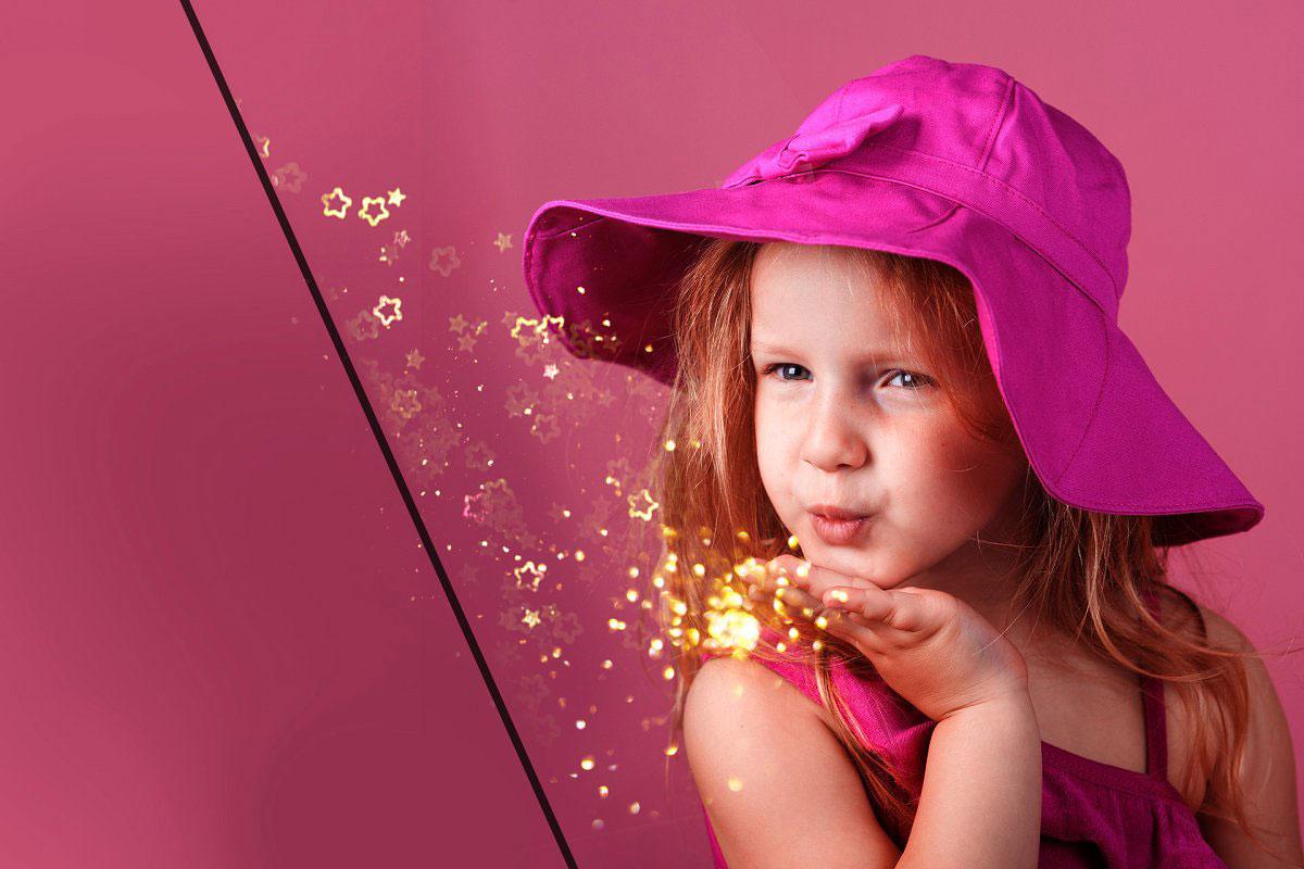 29 Blowing Glitter Photo Overlays 522421