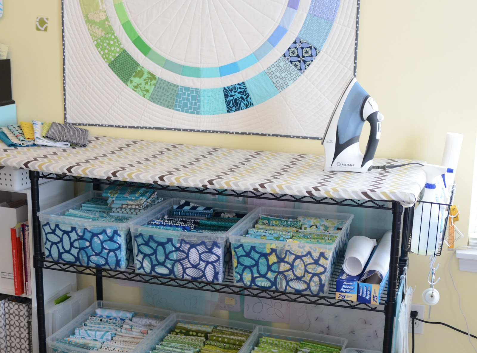 Sewing Room Designs: A Bright Corner: Five Friday Favorites: Sewing Room
