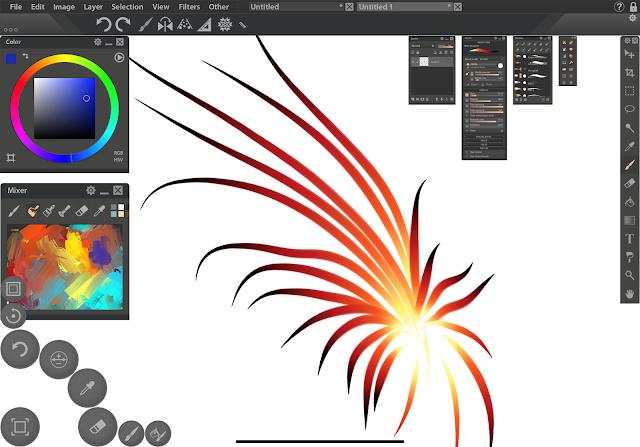 paintstorm iPad app