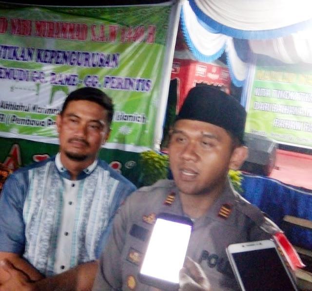 Atasi Sikap Intoleransi dan Faham Radikalisme, Team Mabes Polri dan Kapolsek Tanjung Morawa Hadiri pelantikan IPP - Gratis
