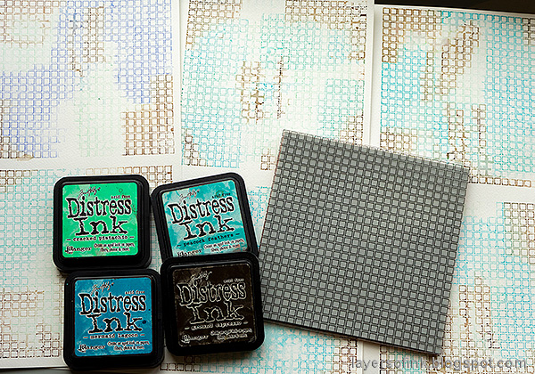 Layers of ink - Simon Says Stamp Born To Sparkle Blog Hop Congrats Card by Anna-Karin Evaldsson. Stamp the Open Grid Background.