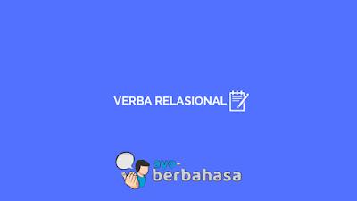 contoh verba relasional