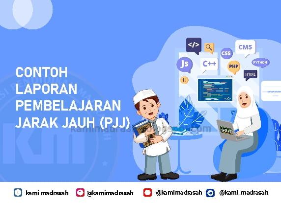 Contoh Laporan Pembelajaran Daring Format Word Kami Madrasah