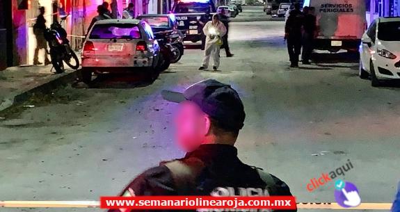 1 Ejecutado, una pareja lesionada y 2 detenciones fue el saldo de un ataque a balazos en la 'Colosio'