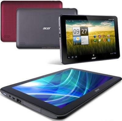 Harga dan Spesifikasi Tablet Acer Iconia A200 Tahun 2017