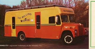 Monolite Bookmobile Postcards
