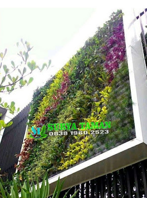 Jasa Taman Vertikal Garden di Sentul City | SuryaTaman
