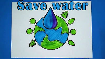 Save-water-drawing-ideas