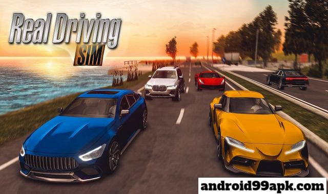 لعبة Real Driving Sim v3.5 مهكرة كاملة بحجم 380 MB للأندرويد