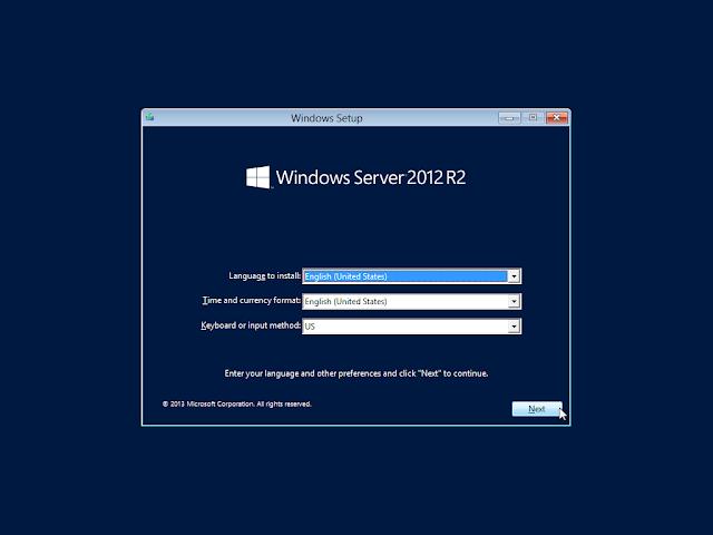 Tutorial Install Windows Server 2012 R2