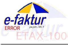 Solusi  e-Faktur Kode Error ETAX-API-40012 Nota retur belum terdaftar di DJP. Silakan hubungi Lawan Transaksi