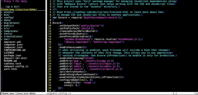 كيفية تثبيت nerdtree مستكشف نظام الملفات للتكامل مع vi ا [3] ؟