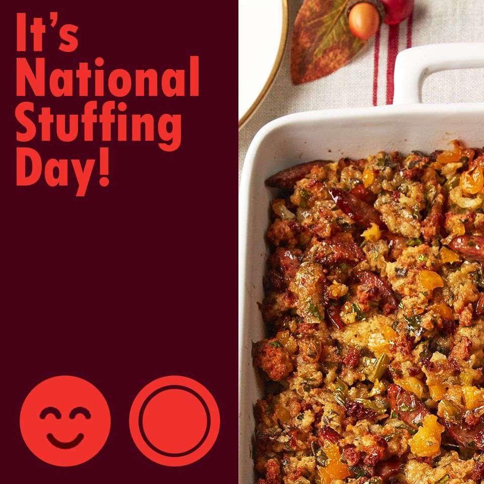 National Stuffing Day Wishes Beautiful Image