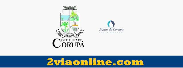 Águas de Corupá: confira como consultar fatura e tirar boleto da 2Via Águas de Corupá